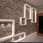 Taş Tuğla Desenli Duvar Kağıdı Modelleri 13