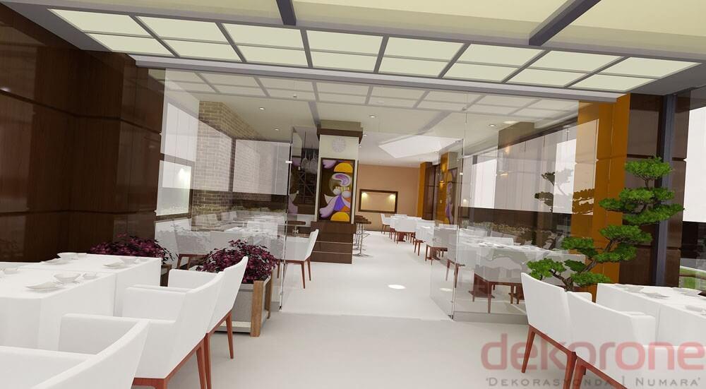 Cafe Dekoratif Zemin Kaplama 4