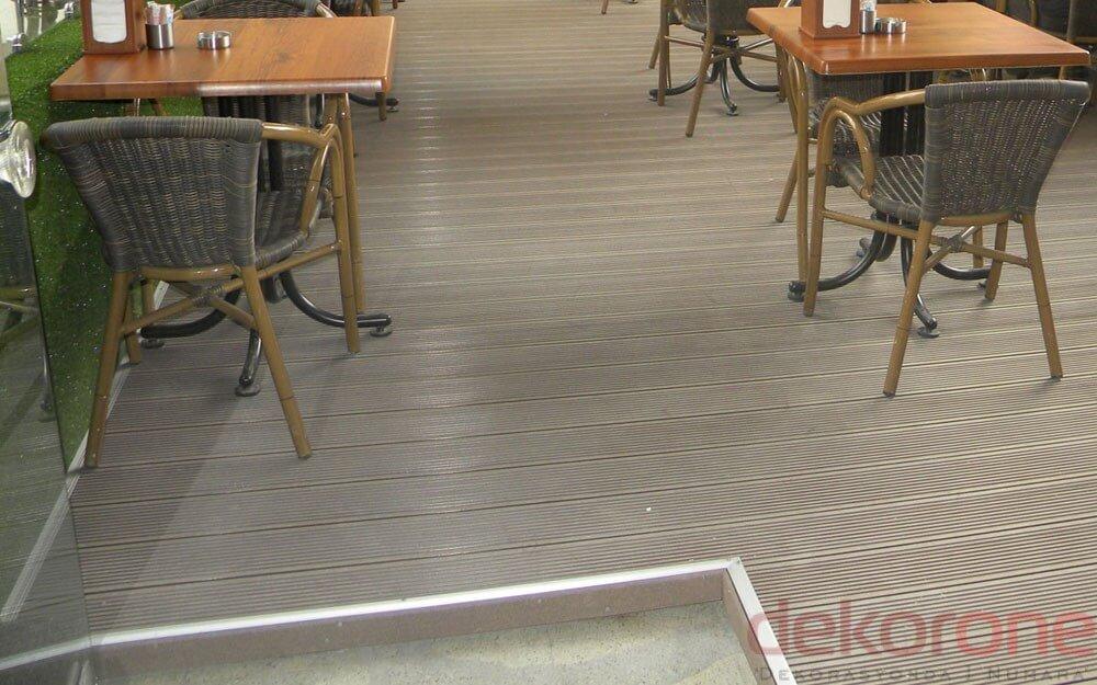 Cafe Dekoratif Zemin Kaplama 7