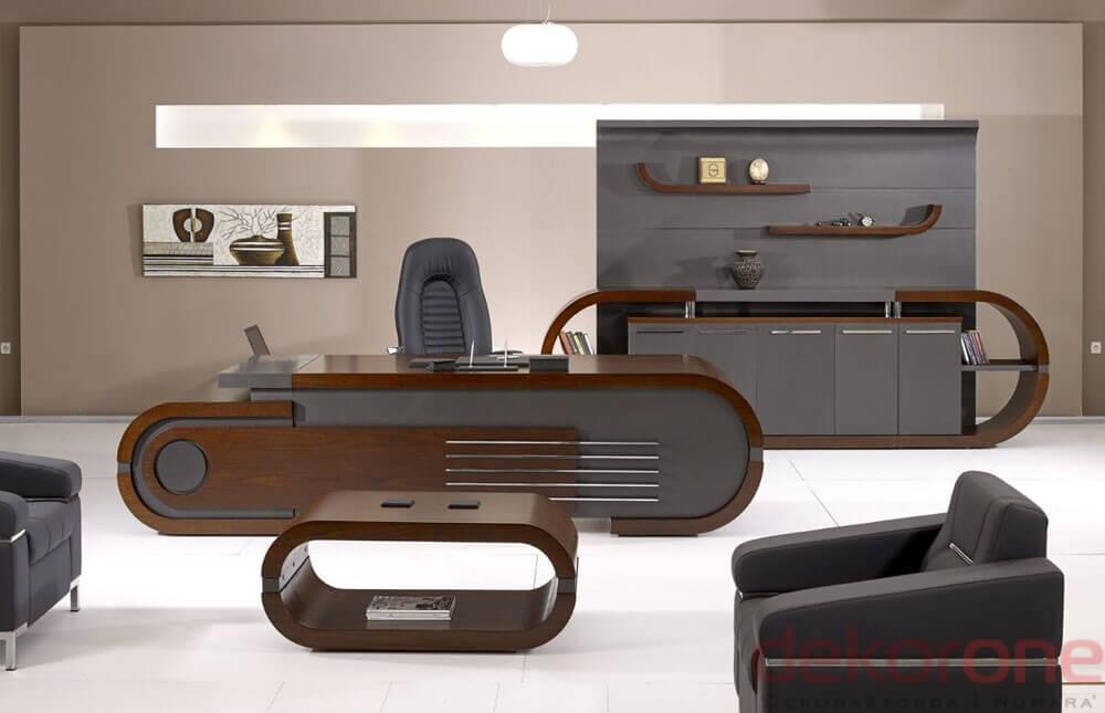 Ofis Dekorasyonu Masa Fikirleri 11