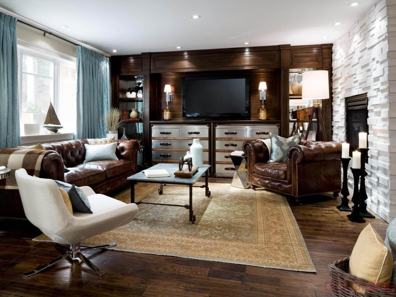 Oturma Odası Dekorasyonu 1