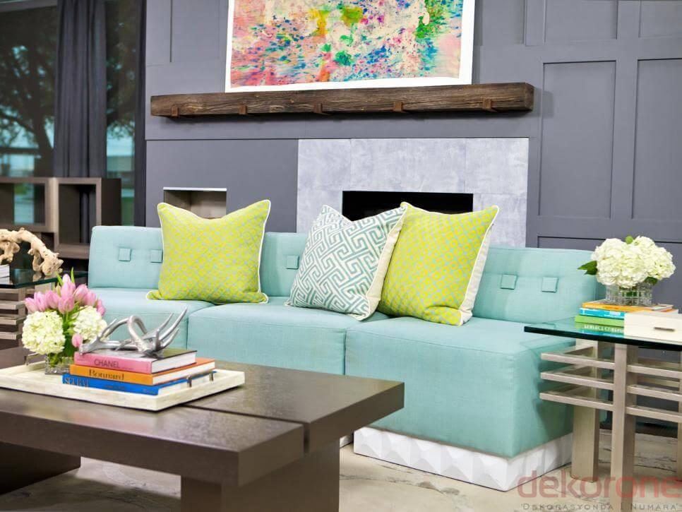 Oturma Odası Renk Önerileri 2
