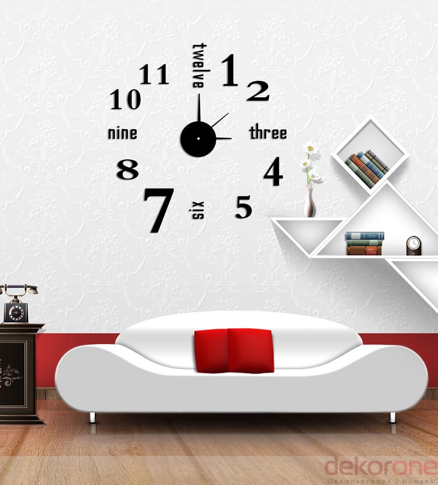 Özel Tasarım Duvar Saatleri 12