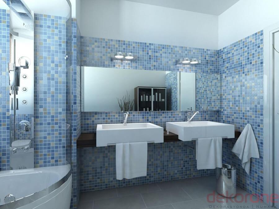 Banyo Dekorasyonu Örnekleri 13