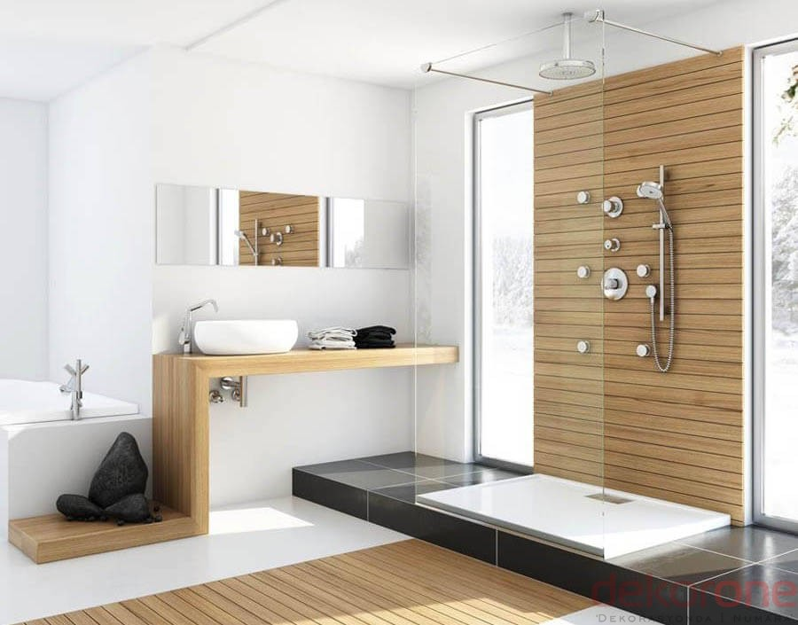Banyo Modern dekorasyon