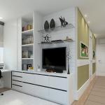 Home Ofis Beyaz Mobilya
