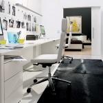 Home Ofis Siyah Beyaz Mobilyalar
