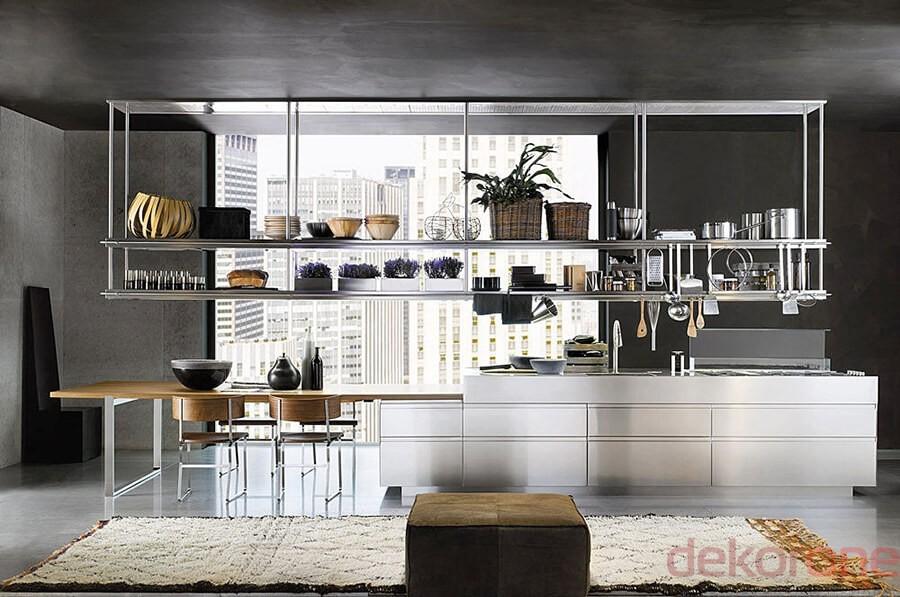 Paslanmaz Çelik Mutfak Modelleri 6