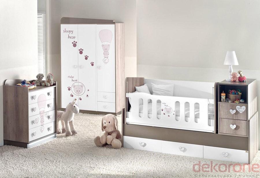 Bebek Odası Takımları Kahverengi