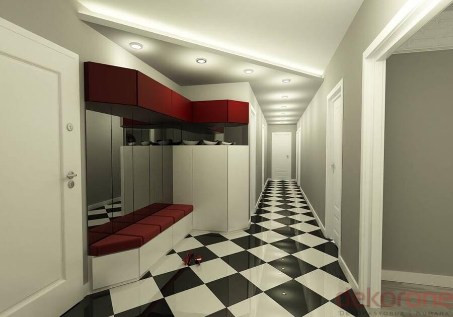 Ev Dekorasyon Koridor7