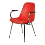 Ofis Sandalye Kırmızı Renk2
