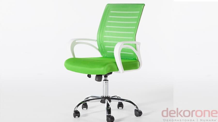 Ofis Sandalye Yeşil Renk