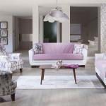 Bellona Oturma Grubu Modelleri 2016 Çiçekli mobilya