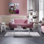 Bellona Oturma Grubu Modelleri 2016 Pembe Çiçekli
