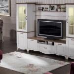 Bellona Televizyon Ünitesi 2016 beyaz ahşap