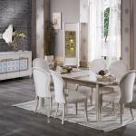 Bellona Yemek Odası Klasik Beyaz TOnları