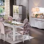 Bellona Yemek Odası Pembe ve Beyaz Tonlar