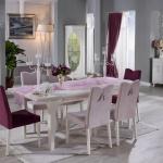 Bellona Yemek Odası Toz Pembe ve Vişne Çürüğü