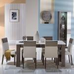 Bellona Yemek Odası Yeşil ve Krem Rengi