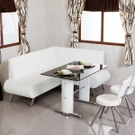 Beyaz Cam Masalı Bellona Mutfak Köşe Takımı 2016