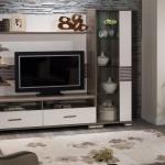 Beyaz Kahve Mobilya Bellona Televizyon Duvar Ünitesi 2016