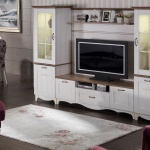 Beyaz Mobilya Bellona Televizyon Duvar Ünitesi 2016