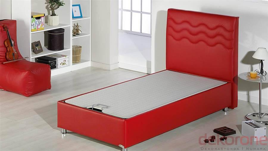 Kırmızı Yatak ve Baza Modeli 2016