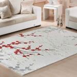 Kırmızı ve Gri Bellona Halı ve Yolluk Modeli 2016