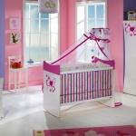 Kız Çocuğu Bellona Bebek Odası Takımı