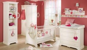 Kız Çocucuğu Beyaz Bellona Bebek Odası Takımı
