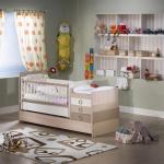 Kahverengi Erkek Çocuğu Bellona Bebek Odası Takımı