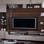 Kahverengi Krem Bellona Televizyon Duvar Ünitesi 2016