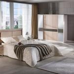 Krem Rengi Bellona Yatak Odası Takımları