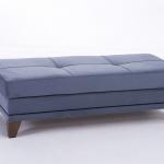 Mavi Renk Bellona Mobilya Puf Koltuk Modelli