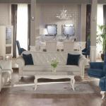 Mavi ve Beyaz Bellona Koltuk Takımları 2016
