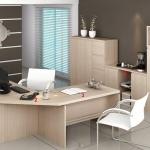 Ofis Dolap Modelleri Açık Kahve 2