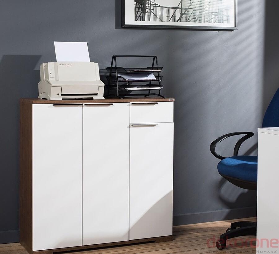 Ofis Dolap Modelleri Beyaz