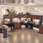 Ofis Dolap Modelleri Kahverengi ve Siyah