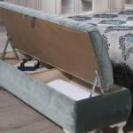 Yeşil Açılır Bellona Mobilya Puf Koltuk Modelli
