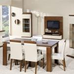 Yemek Masası Beyaz Tonlar