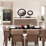 Yemek Masası Kahverengi Ahşap