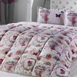 Çiçekli Kırmızı beyaz Bellona Uyku Seti 2016