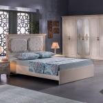 Açık Kahverengi Mobilya İstikbal Yatak Odası Takımı 2016