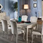 Beyaz Cam Masalı İstikbal Yemek Odası Takımı 2016