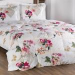 Beyaz Kırmızı Çiçekli Bellona Uyku Seti 2016