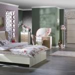 Beyaz Kahverengi İstikbal Yatak Odası Takımı 2016