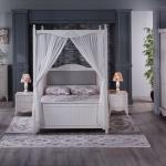 Beyaz Renk Mobilya İstikbal Yatak Odası Takımı 2016
