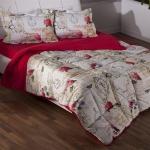 Kırmızı Çiçekli Bellona Uyku Seti 2016