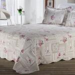 Kırmızı Çiçekli Bellona Yatak Örtüsü 2016
