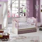 Kız Çocuğu Kuşlu Bellona Bebek Odası Takımı